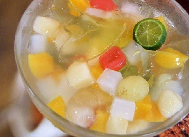 resep Es Cocktail Buah