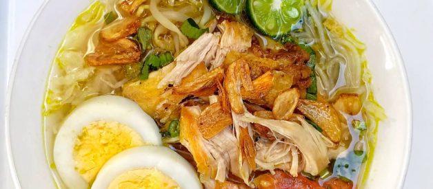 Resep Soto Lamongan Asli Jawa Timur Dengan Suwiran Ayam Dan Kuah Kuning Super Gurih