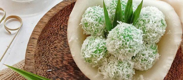 Resep Kue Klepon Ketan Isi Gula Merah Super Legit dan Gurih Dari Kelapa