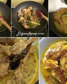 Resep Opor Ayam Tahu Kuning Special Kuah Gurih