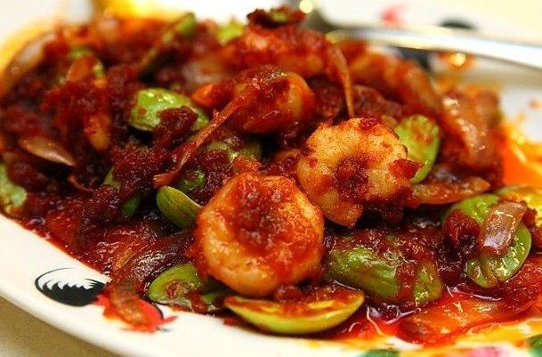 resep sambal udang pete goreng