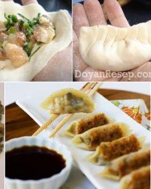 Cara Membuat Gyoza Ayam (Pan Fried Dumpling) Ala Jepang