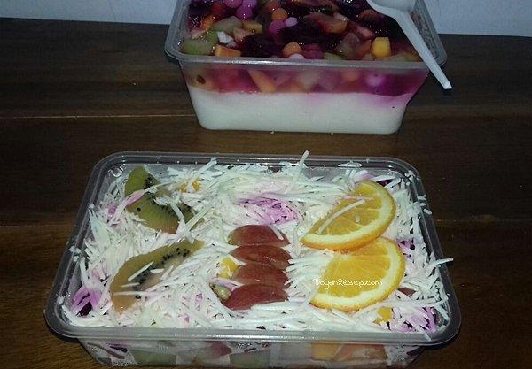 Cara Membuat Salad Buah a la Resto