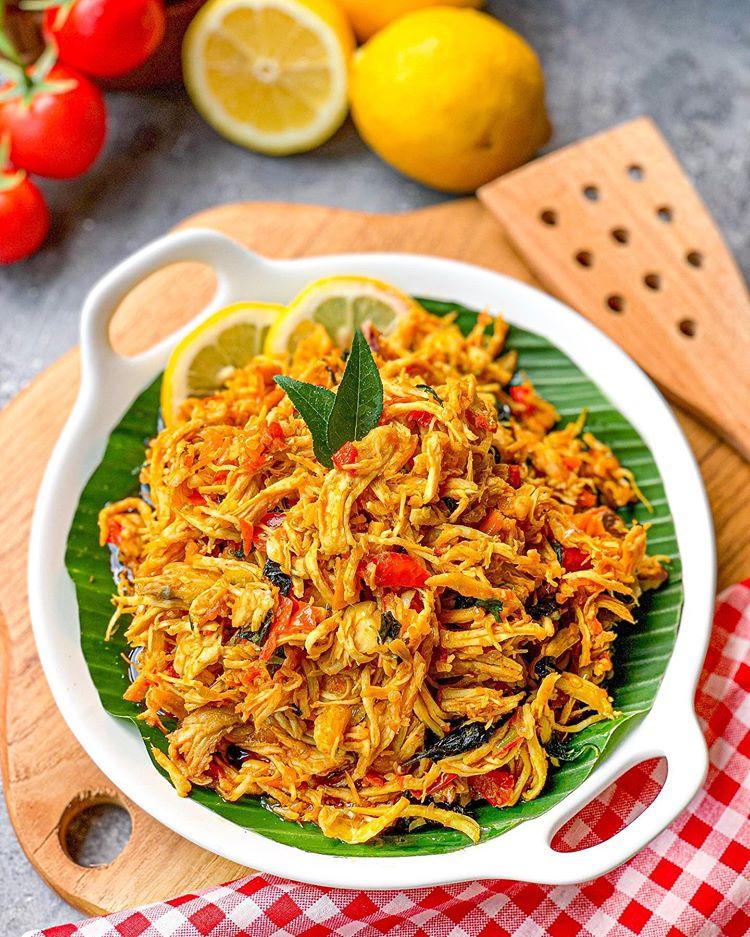 Cara Masak Ayam Suwir Pedas Bumbu Bali Ayam Sisit Bali