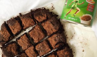 brownies kukus milo