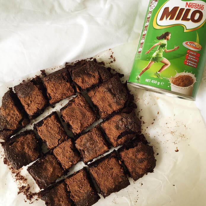 Resep Brownies Kukus Milo Keju Tanpa Mixer
