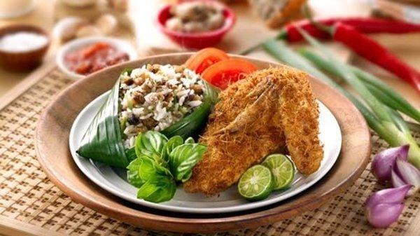 Resep Ayam Goreng Nasi Tutug Oncom