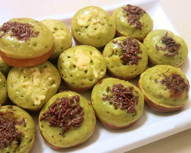 Kue Cubit Green Tea Matcha