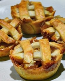 Cara Membuat Resep Apple Pie Mini (Pie Buah Apel)