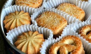 resep butter cookies ala monde