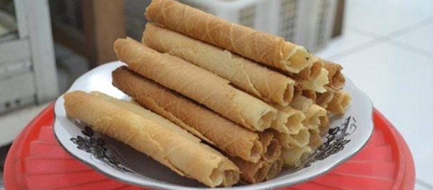 Resep Kue Egg Roll Renyah Gurih ala Monde