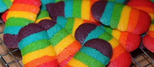 5 Resep Kue Kering Lidah Kucing Coklat Keju Pandan Greantea dan Rainbow