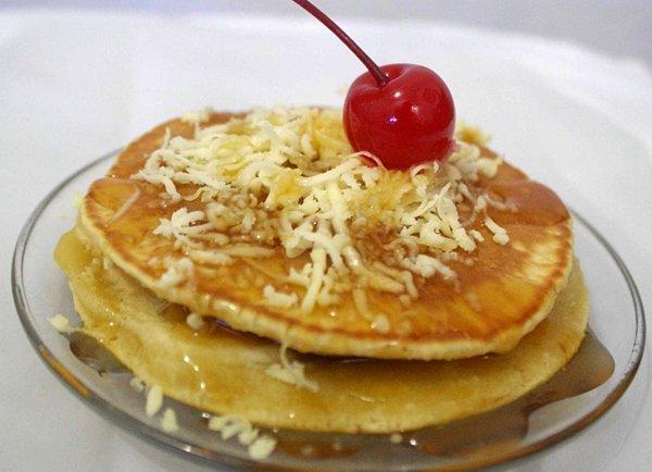 Pancake Kurma Keju