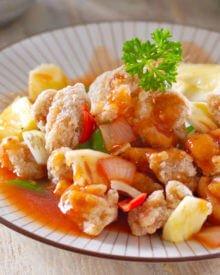 Resep Ayam Koloke Saus Asam Manis (Ayam Kuluyuk)