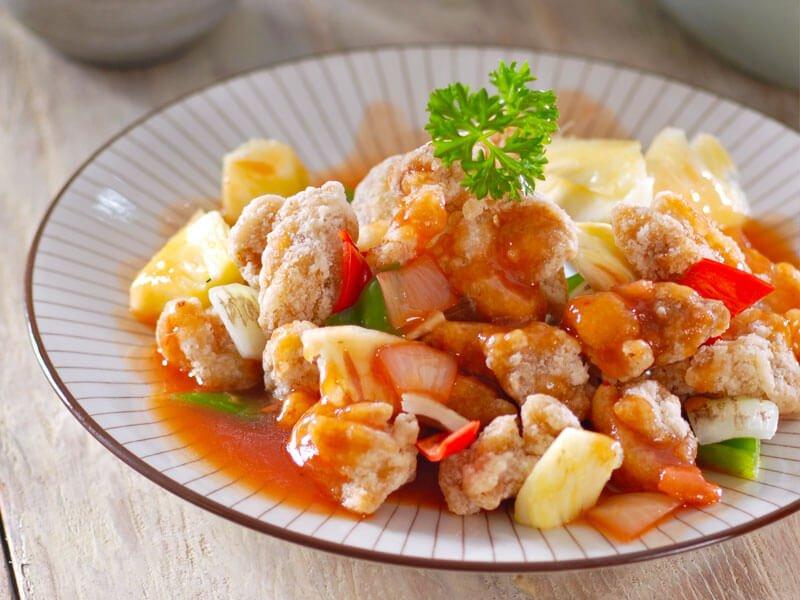 resep ayam koloke saus asam manis
