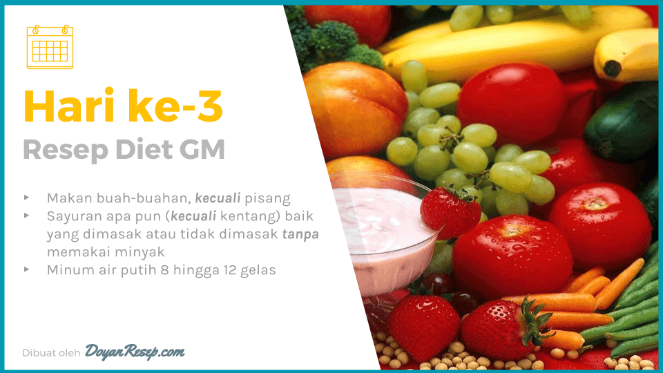 resep diet gm hari ke 3