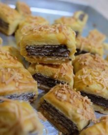 Resep Wafer Cookies (Nastar Keju Isi Wafer Selamat)