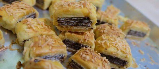 Resep Wafer Cookies (Nastar Keju Isi Wafer Selamat)