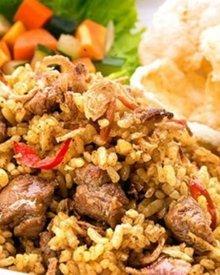 Resep Nasi Goreng Kambing ala Kebon Sirih Bango