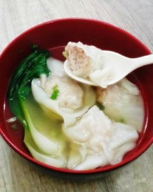 Resep Pangsit Rebus Kuah Ayam Udang Homemade