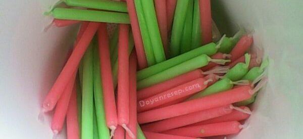 Resep Es Susu Pensil Red Velvet Untuk dijual 500 dan Seribuan