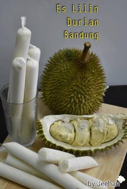 Resep Es Lilin Durian