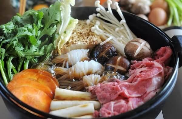 resep sukiyaki jepang