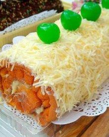 Resep Membuat Bolu Gulung Durian Panggang Empuk dan Ekonomis