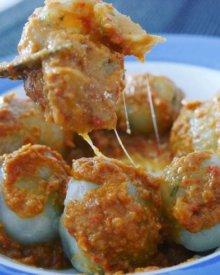 Resep Cilok Daging Ayam Bumbu Kacang Khas Bandung (Pentol)
