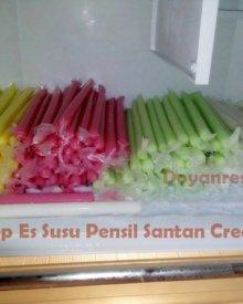 Resep Es Susu Pensil Santan Creamy Ekonomis 2 Liter