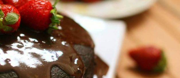 Resep Bolu Coklat Lembab Kukus (Moist Chocolate Cake)