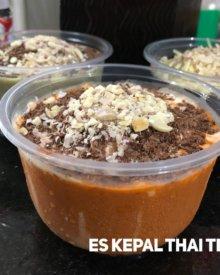 Resep Es Kepal Milo Thai Tea Viral Cukup 5 Bahan Praktis