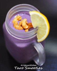 Cukup 2 Bahan Kamu Bisa Bikin Taro Smoothies Milk (Minuman Taro Milk) Di Rumah