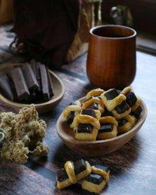 Resep Chocolate Stick Cookies Ny.Liem (Kue Kering Stik Coklat)