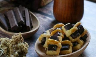 resep chocolate stick cookies