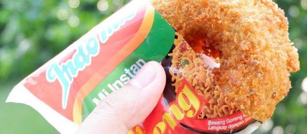 3 Resep Donat Indomie Goreng Viral (Donut Indomie), Seenak Apa Sih?