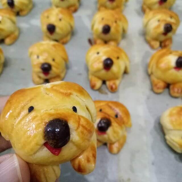 Nastar Bentuk Doggy