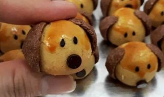 resep nastar doggy character