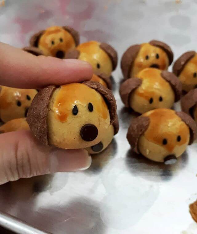 Cara Membuat Resep Nastar Doggy Character Anti Gagal