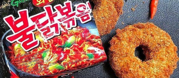 Resep Donat Samyang (Donut Samyang) Pedas Gila
