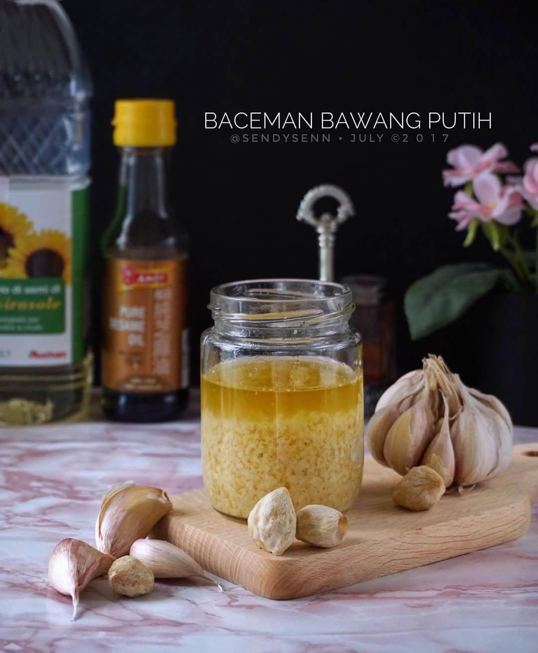 resep baceman bawang putih