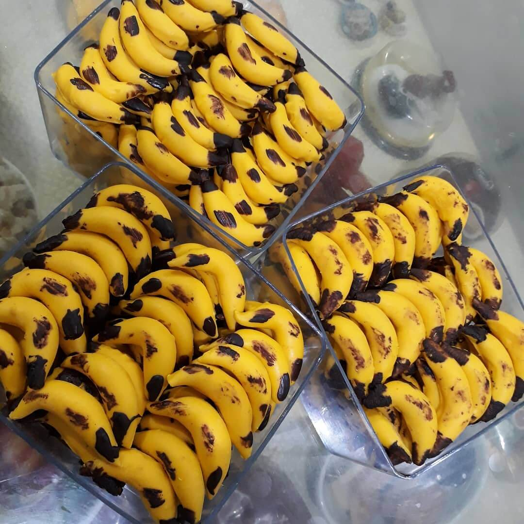 resep banana chocolate cookies