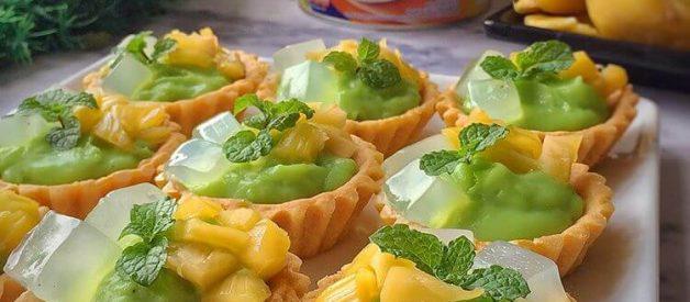Resep Pie Es Teler (Es Teler Tart) Yang Renyah dan Lembut di Mulut