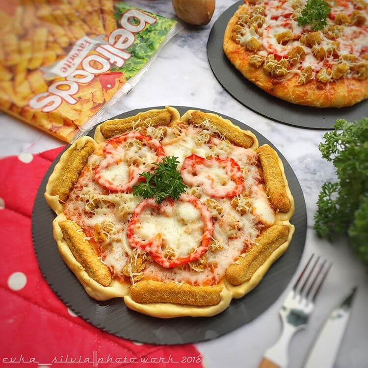 resep pizza nugget