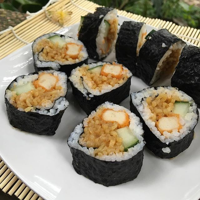 resep sushi indomie
