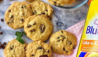 resep vanila chocochips cookies