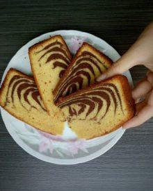 Resep Kue Bolu Macan Khas Bangka (Marmer Cake) yang Soft dan Moist