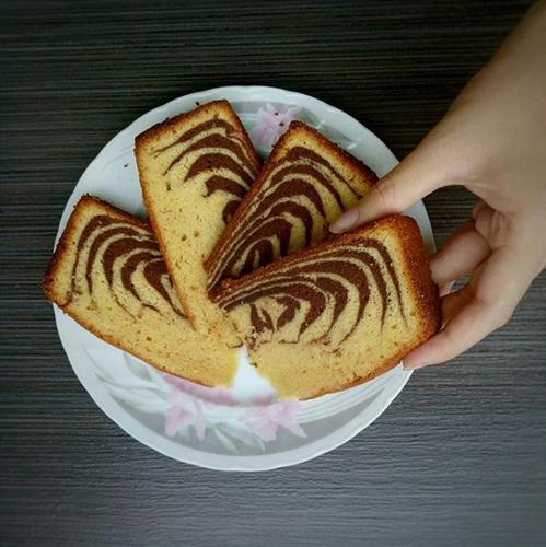kue bolu macan khas bangka