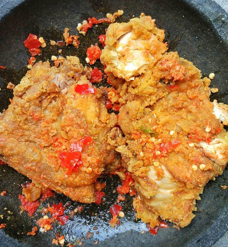 cara membuat ayam geprek