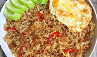 cara membuat nasi goreng telur